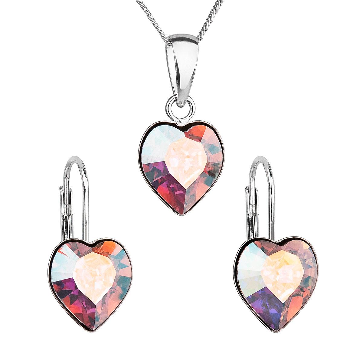 Evolution Group Sada šperků s krystaly Swarovski náušnice 3f545bc29f6