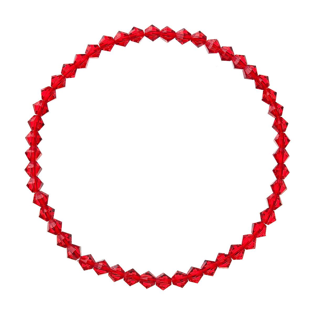 Náramek se Swarovski krystaly červený 73005.3