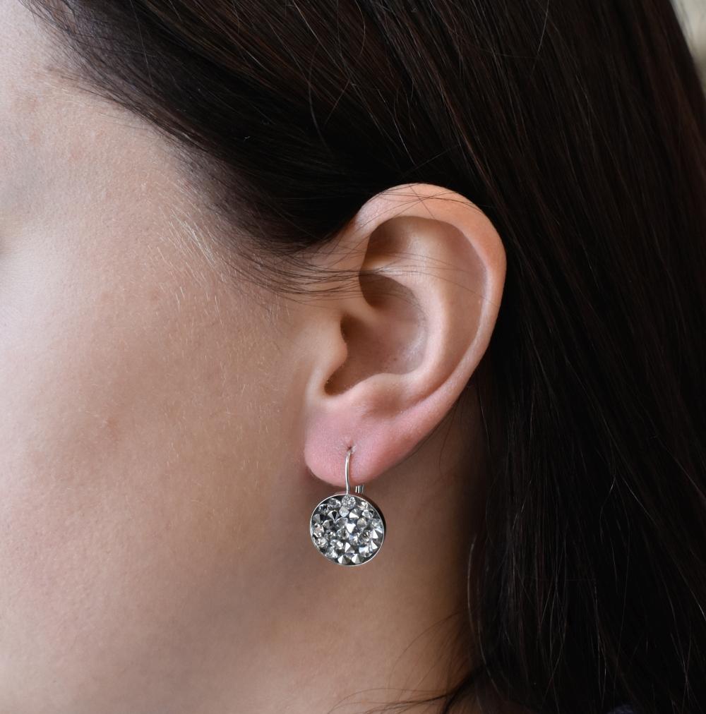 Sada šperků se Swarovski krystaly náušnice a přívěsek calvsi 79031.5